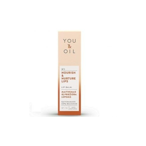 Bálsamo Labial Refrescante y Nutritivo 7 gr. YOU & OIL