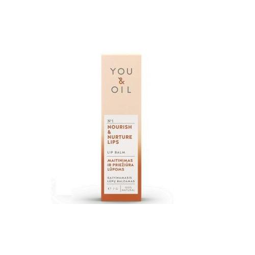 Bálsamo Labial Refrescante y Nutritivo 7 gr. YOU & OIL