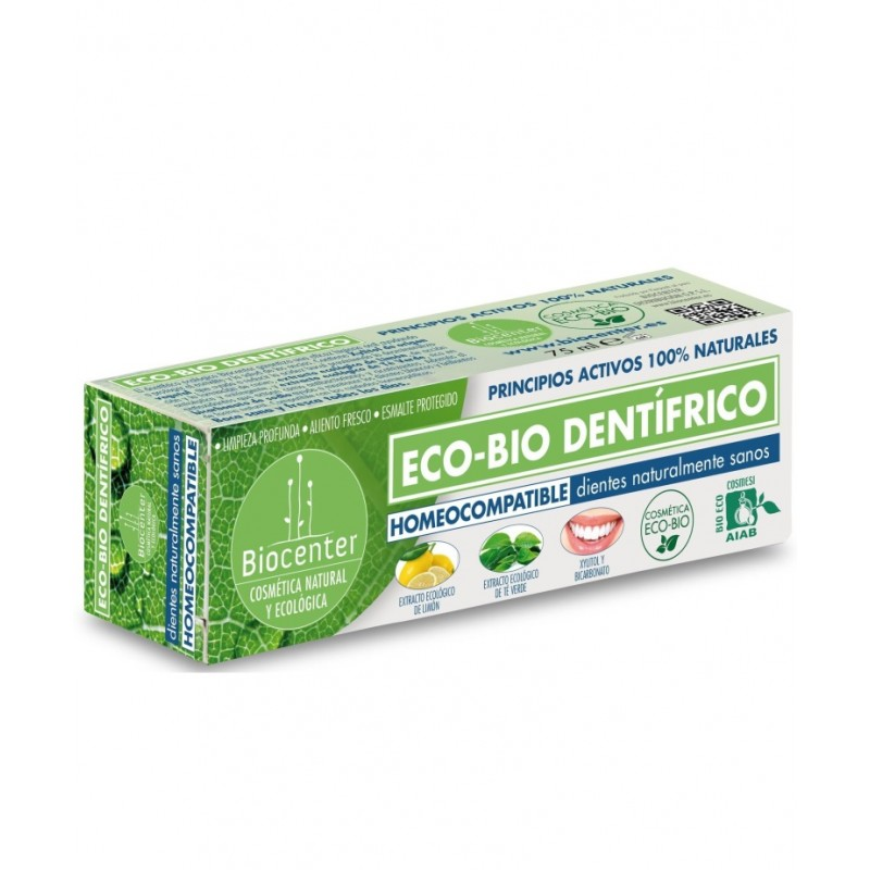 Dentrífico Homeo compatible Ecobio 75 ml