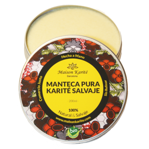 Manteca de Karité Salvaje Bio 100ml