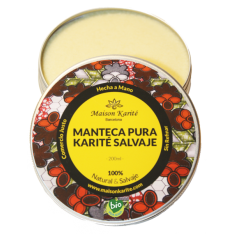 Manteca de Karité Salvaje Bio 100ml