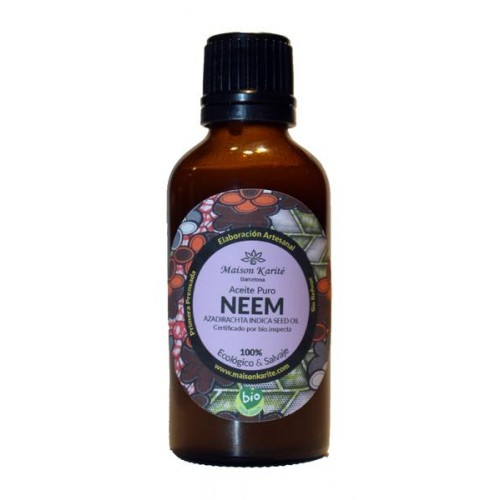 Aceite de Neem Salvaje Puro Virgen Extra Bio 55ml