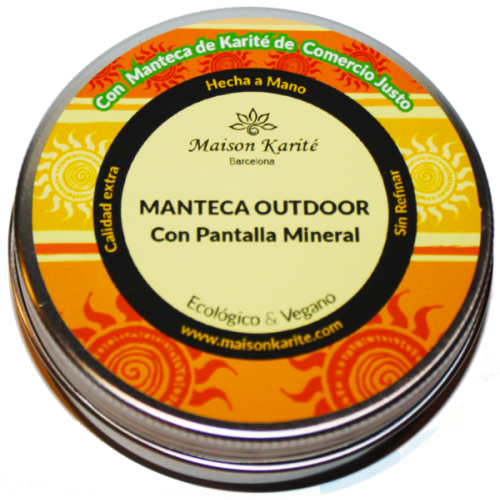 Manteca OutDoor con pantalla mineral 100ml