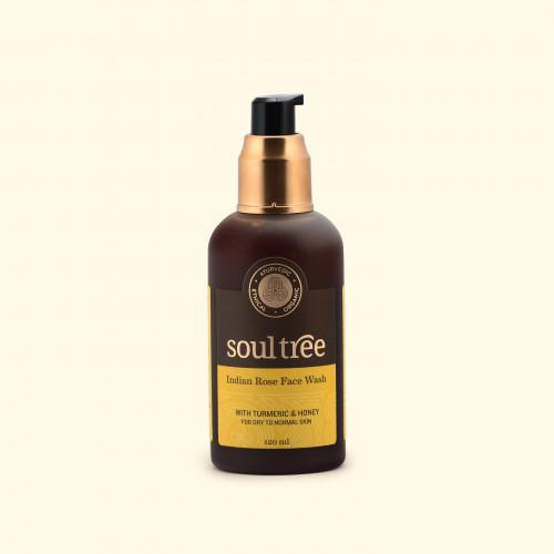 Gel limpiador facial de Rosas 120ml