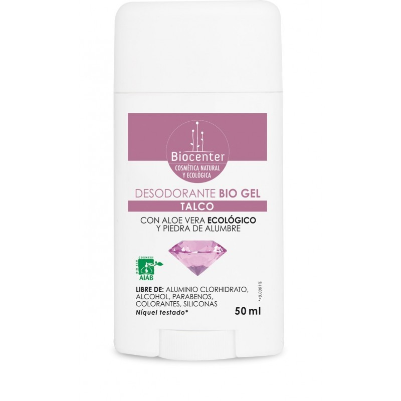 Desodorante Bio Talco gel 50 gr