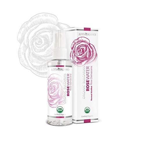Agua de rosas orgánica búlgara 100ml