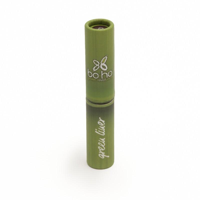 Delineador de ojos 02 Green Liner marrón 3ml