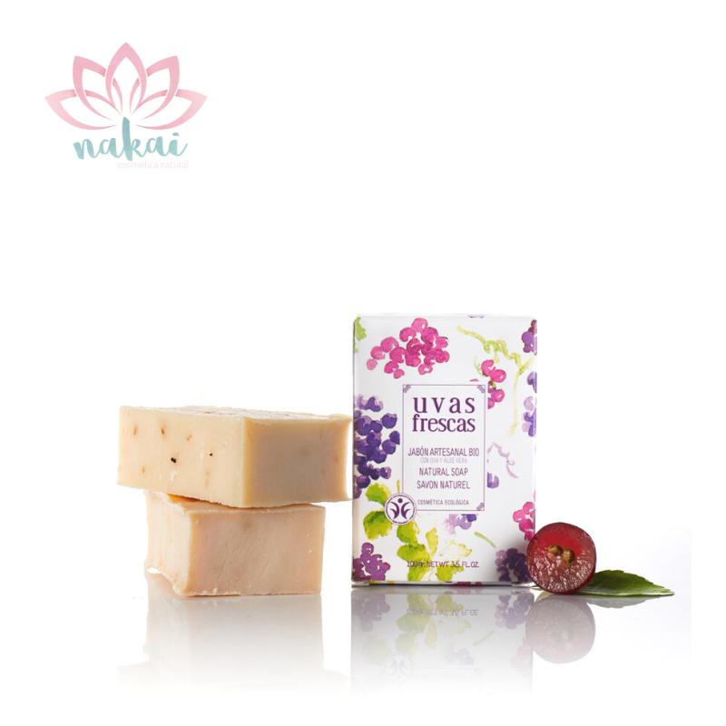Jabón Natural artesanal de Uva y Oliva 100gr