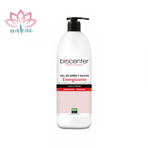 Gel de baño y ducha ecológico Energizante , línea Top Eco Friendly 1000 ml
