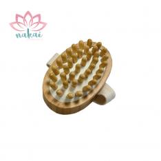 Cepillo masajeador anticelulitis bambú