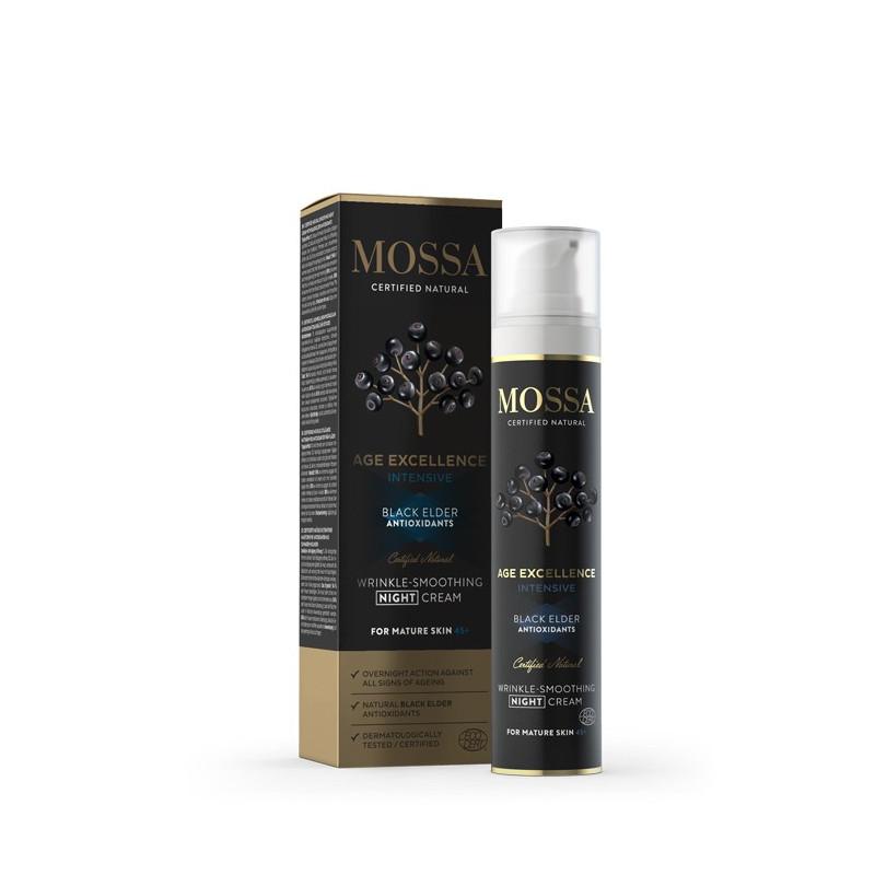 Crema de Noche Alisadora y Anti-arrugas Age Excellence 50 ml