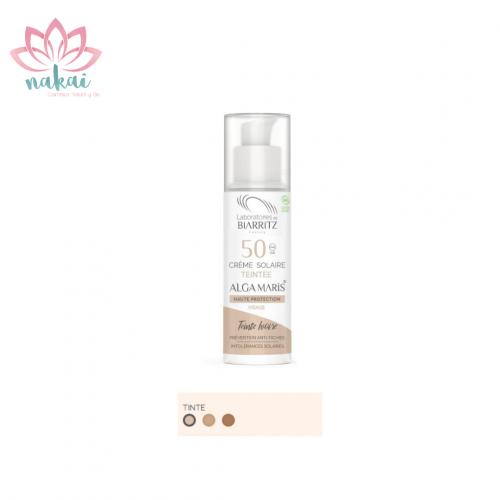 Crema Solar Facial SPF 50 Color Marfil 50 ml