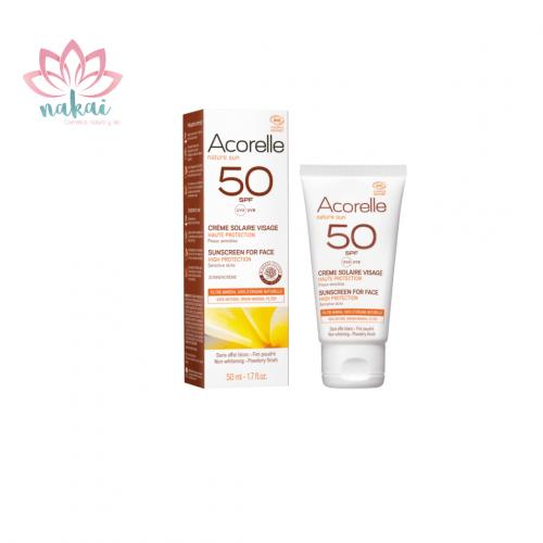 Crema solar facial SPF 50 50ML
