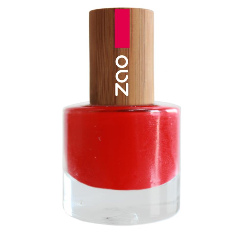 Esmalte de uñas 650 - Rouge carmin 8ml