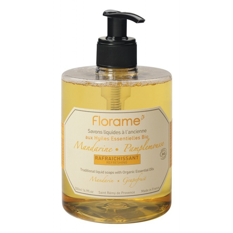 Jabón de manos Mandarina & Pomelo 500ml