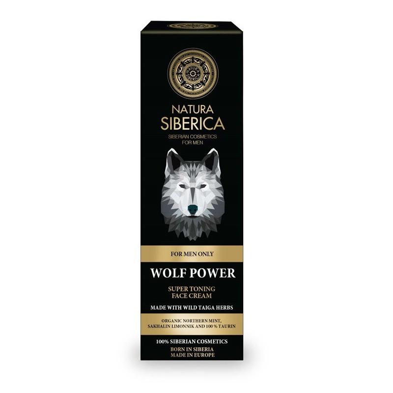 Crema Facial Súper Tonificante El Poder del Lobo 50 ml