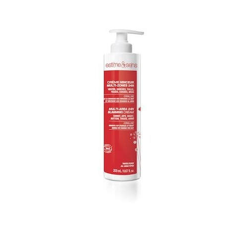 Creme Reductora 24h Multi-zonas. Dispensador 200 ml.
