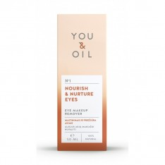 YOU&OIL Desmaquillante Contorno de Ojos Nutritivo 50ml. YOU & OIL