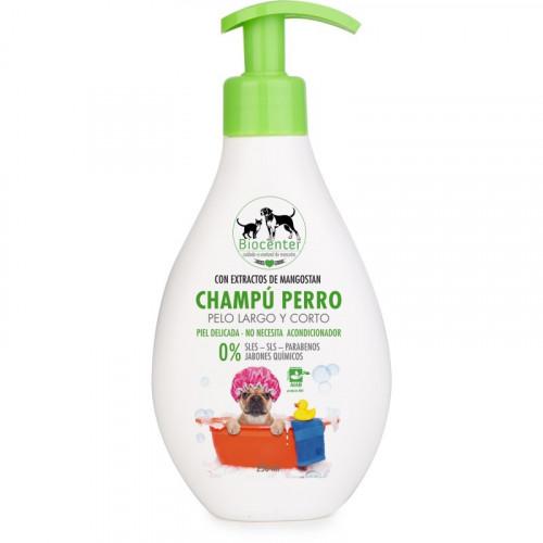 Champú para perro pelo largo y corto 250ml Biocenter